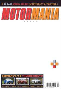 An inscription on the frame: MotorMania